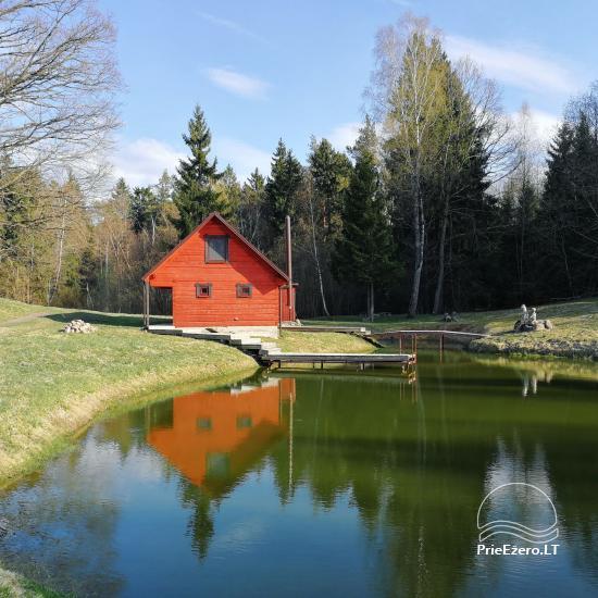 Lauku sēta Alytus rajonā Zem ozola Lietuvā - 9