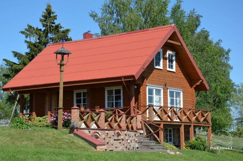 Lauku sēta Lietuvā pie ezera Antalaušiai - 1