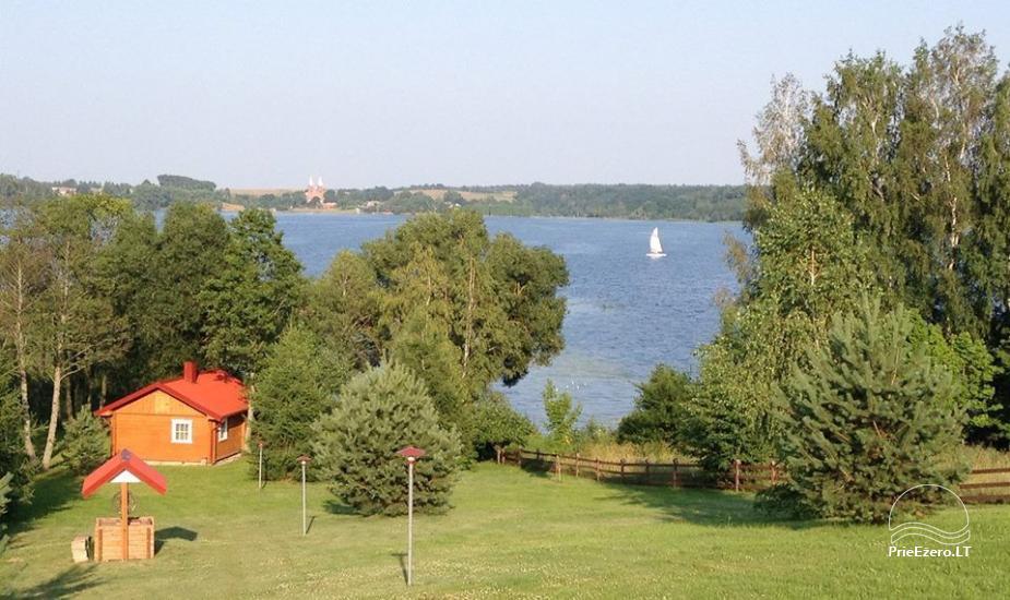 Lauku sēta Lietuvā pie ezera Antalaušiai - 2