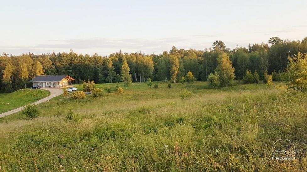 Aveņu villa - jaunuzcelta māja dabā, netālu no meža - 6