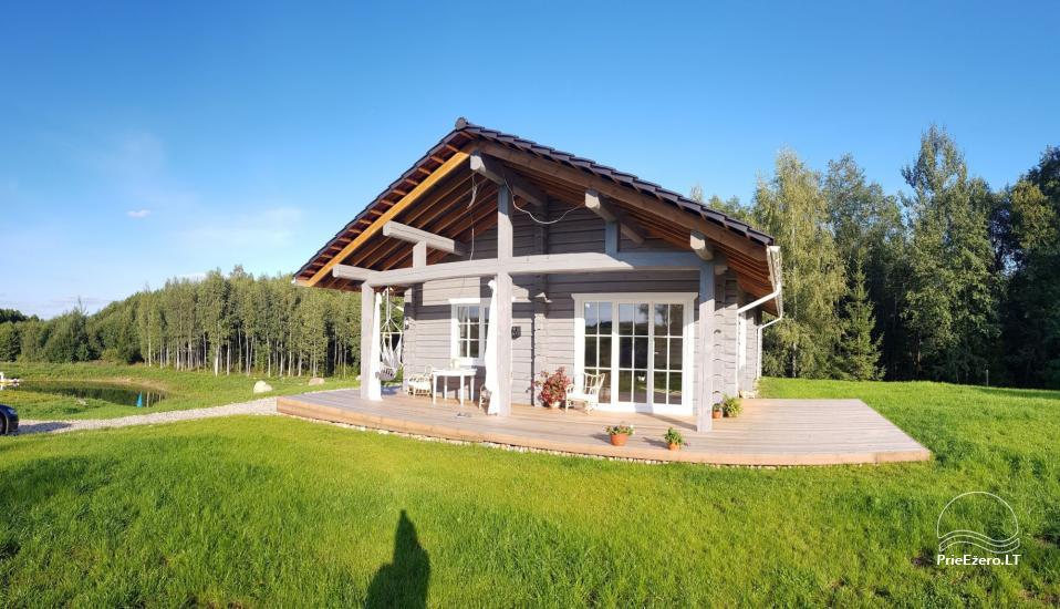 Aveņu villa - jaunuzcelta māja dabā, netālu no meža - 4