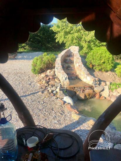 Kempinga vieta Vilkyciai - mums ir dīķis, japāņu āra vanna, motorolleri - 4