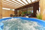 Romantiskas brīvdienas diviem - brīvdienu māja ar saunu, āra džakuzi - 1