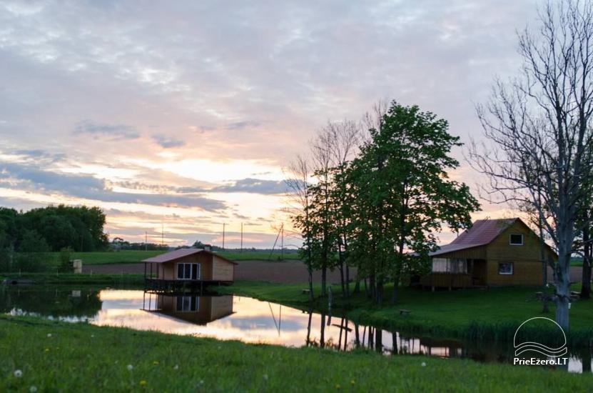 Lauku sēta Jurbarkas rajonā Raudonės Fazenda - 23