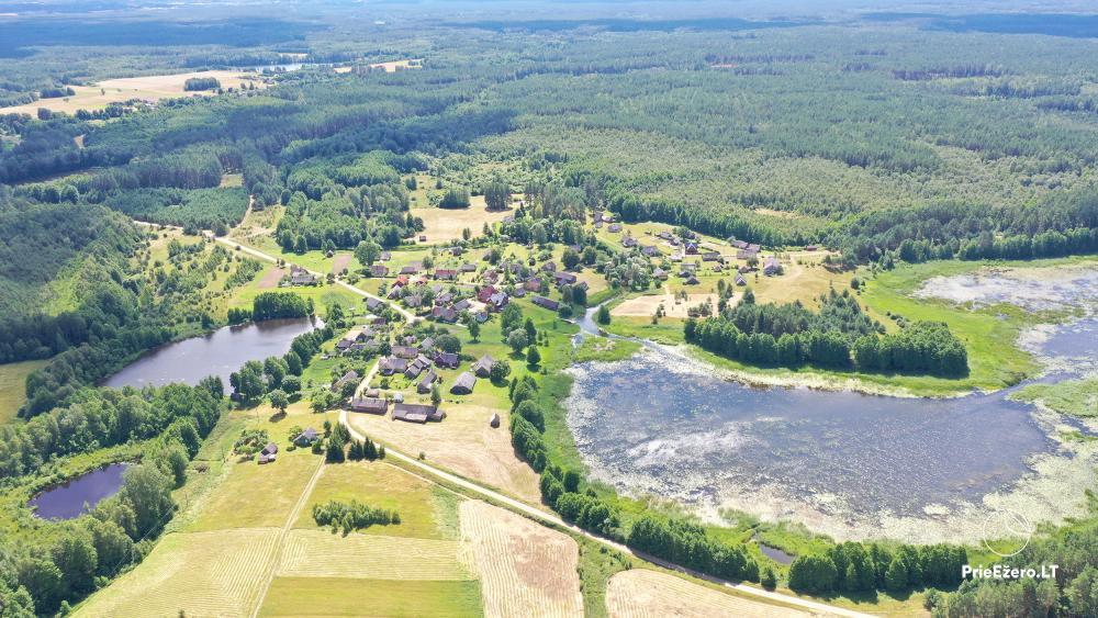 Lauku sēta pie upes Lietuvā - 15