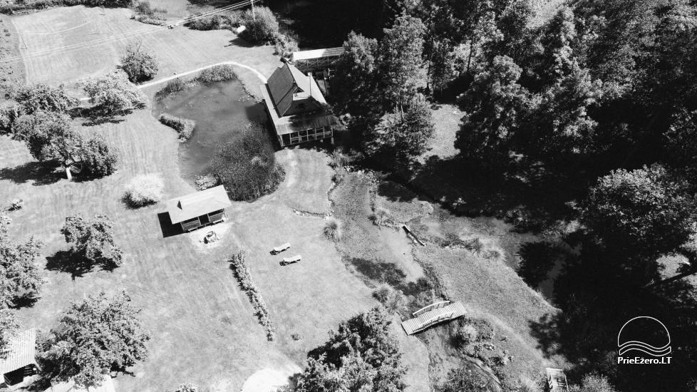 Lauku mājas Trakai reģionā ezera Ungurys Prie krioklio - 2
