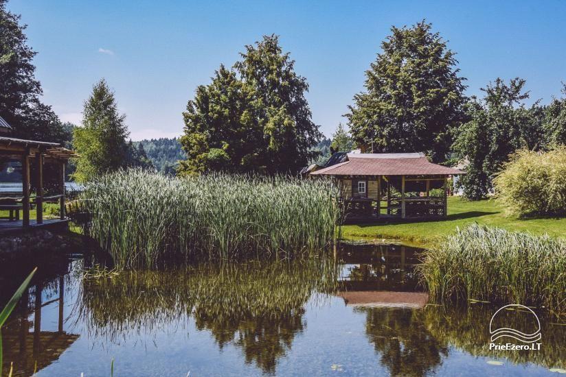 Lauku mājas Trakai reģionā ezera Ungurys Prie krioklio - 4