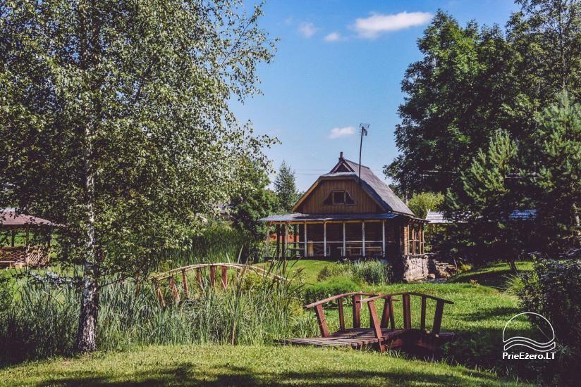 Lauku mājas Trakai reģionā ezera Ungurys Prie krioklio - 7