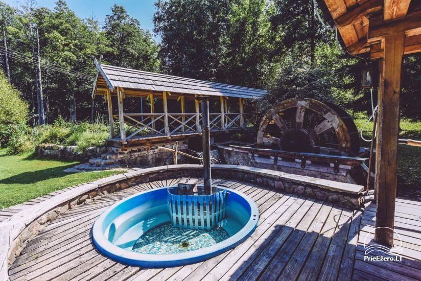 Lauku mājas Trakai reģionā ezera Ungurys Prie krioklio - 9