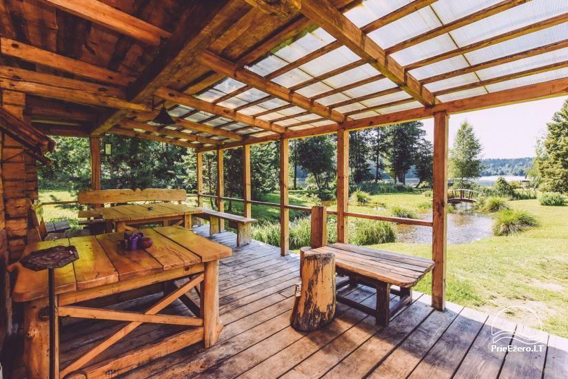Lauku mājas Trakai reģionā ezera Ungurys Prie krioklio - 13