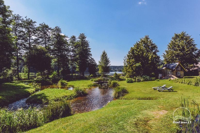 Lauku mājas Trakai reģionā ezera Ungurys Prie krioklio - 14