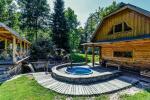 Lauku mājas Trakai reģionā ezera Ungurys Prie krioklio