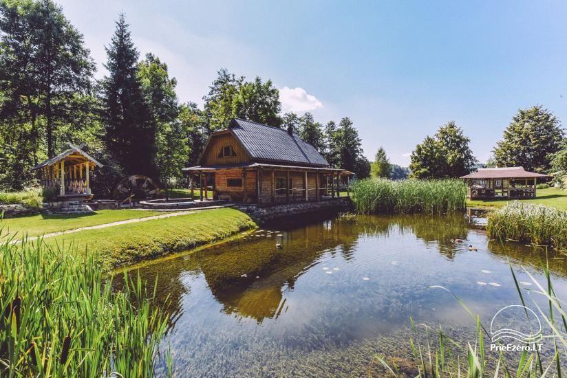 Lauku mājas Trakai reģionā ezera Ungurys Prie krioklio - 15