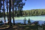 Tiek izīrēta lauku sēta Moletai ezera krastā. Tur ir pirts, laiva, lapene ...