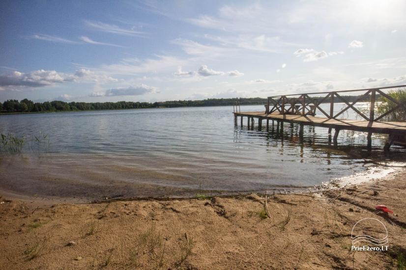 Lauku tūrisma sēta Pilskalna sēta pie ezera - 19