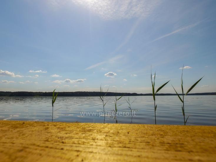 Tiek izīrētas nelielas brīvdienu mājas Molētu reģionā pie ezera - 31