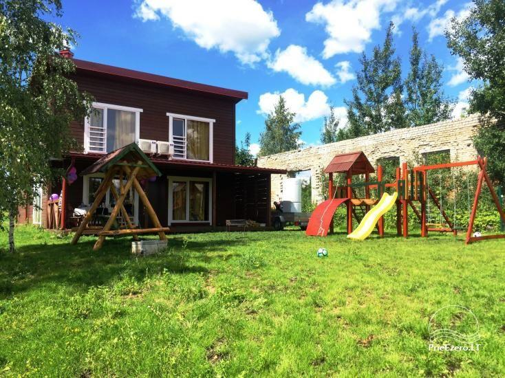 Tiek izīrētas nelielas brīvdienu mājas Molētu reģionā pie ezera - 6
