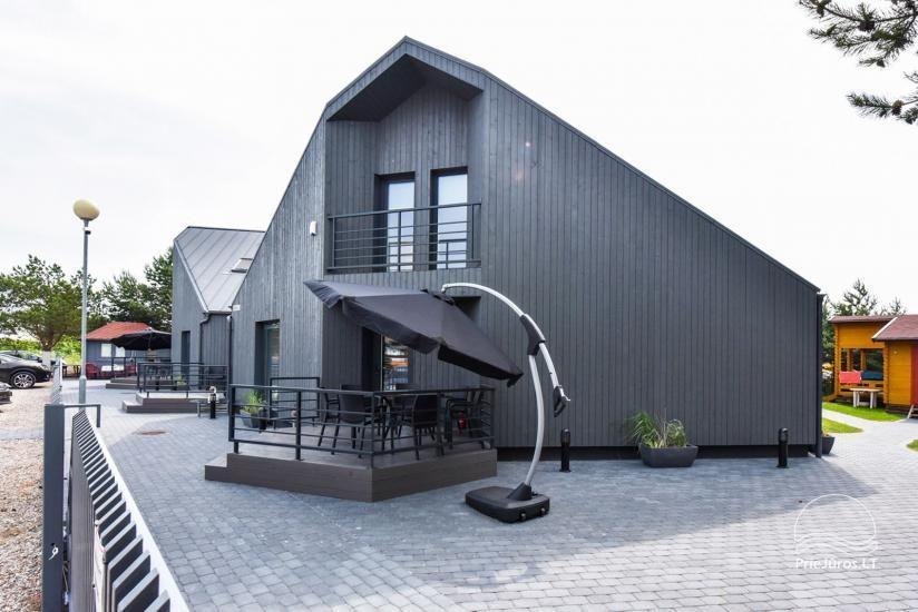 Brīvdienu mājas un dzīvokļu īre pie jūras Sventoji - 6