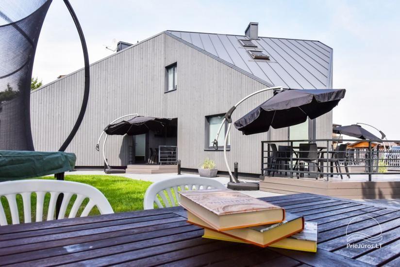 Brīvdienu mājas un dzīvokļu īre pie jūras Sventoji - 8