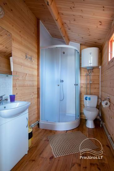 Brīvdienu mājas un dzīvokļu īre pie jūras Sventoji - 11