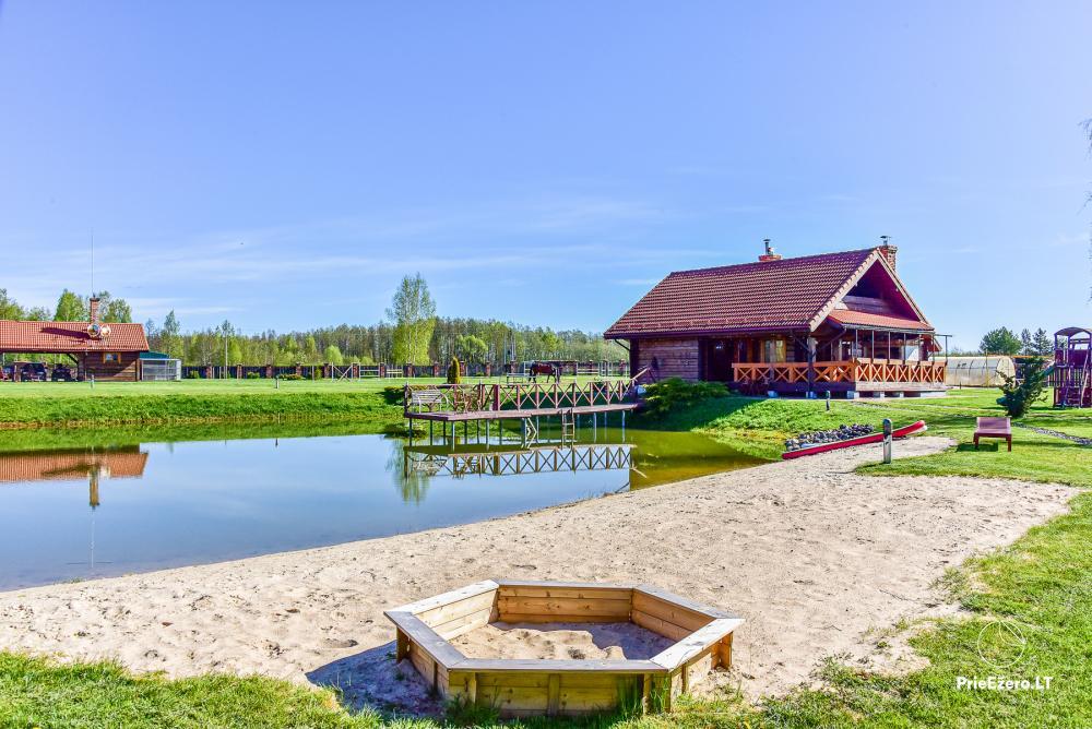 Lauku sēta - atpūtas centrs Viļņas reģionā, Lietuvā - 5
