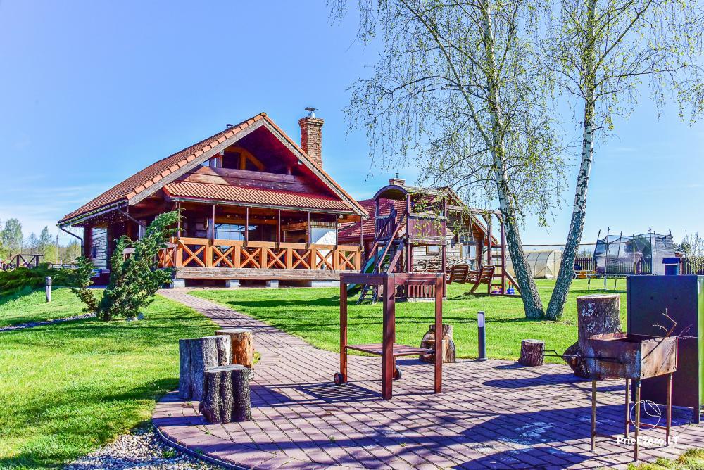 Lauku sēta - atpūtas centrs Viļņas reģionā, Lietuvā - 3