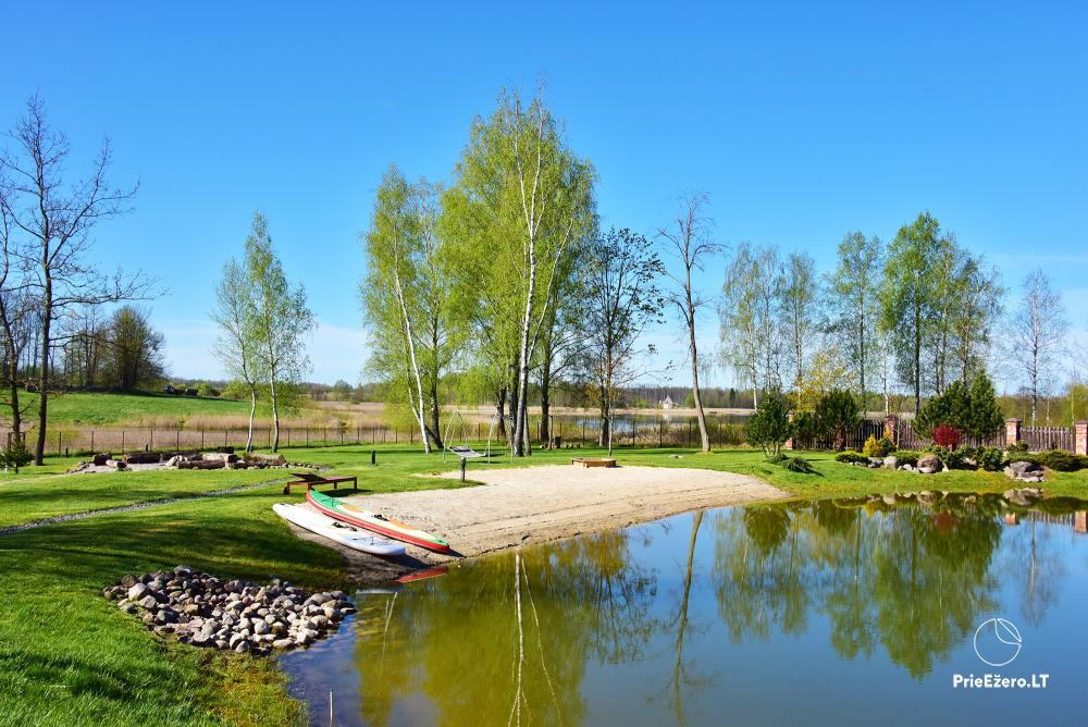 Lauku sēta - atpūtas centrs Viļņas reģionā, Lietuvā - 2