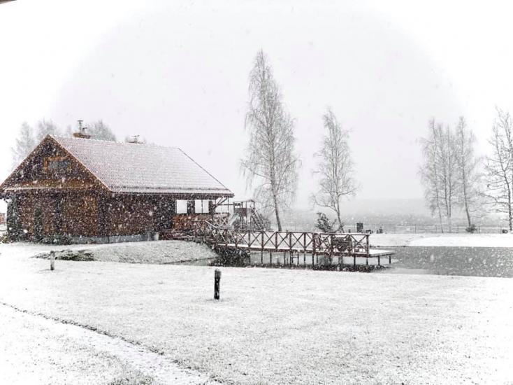 Sēta netālu no Viļņas, ezera krastā: izjādes ar zirgiem, smilšu pludmale, izklaides - 47