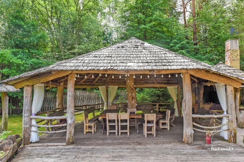 Lauku māja Laukdvaris pie upes tuvu Latvijas-Lietuvas robežai – Brīvdienas un svētki - 8