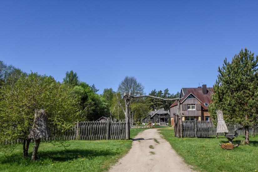 Lauku māja Laukdvaris Kretingas rajonā pie Sventājā upes - 3