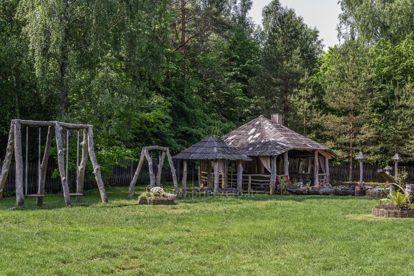 Lauku māja Laukdvaris Kretingas rajonā pie Sventājā upes - 11