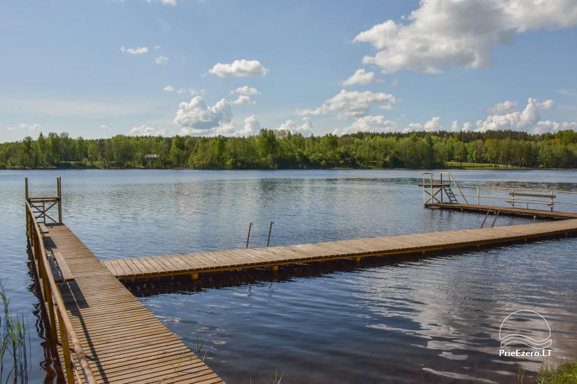 Tiek izīrēta lauku sēta netālu no ezera Lietuvā - 2