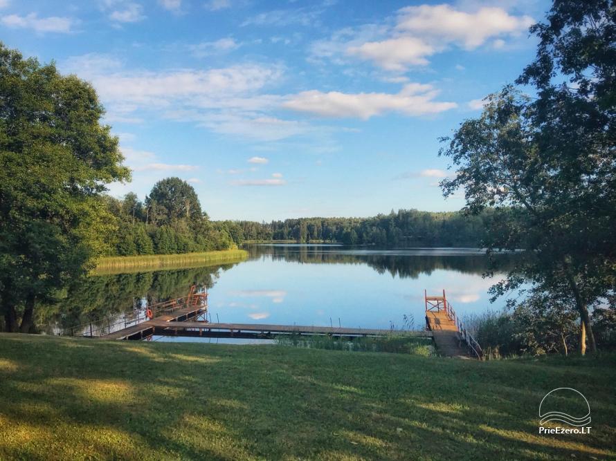 Tiek izīrēta lauku sēta netālu no ezera Lietuvā - 3
