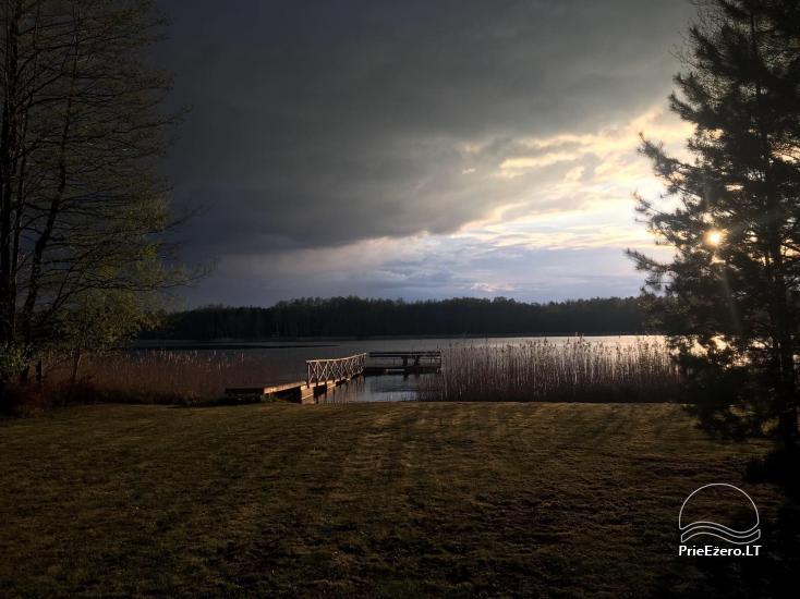 Mazā brīvdienu māja Baublys Lake Lodge - 7