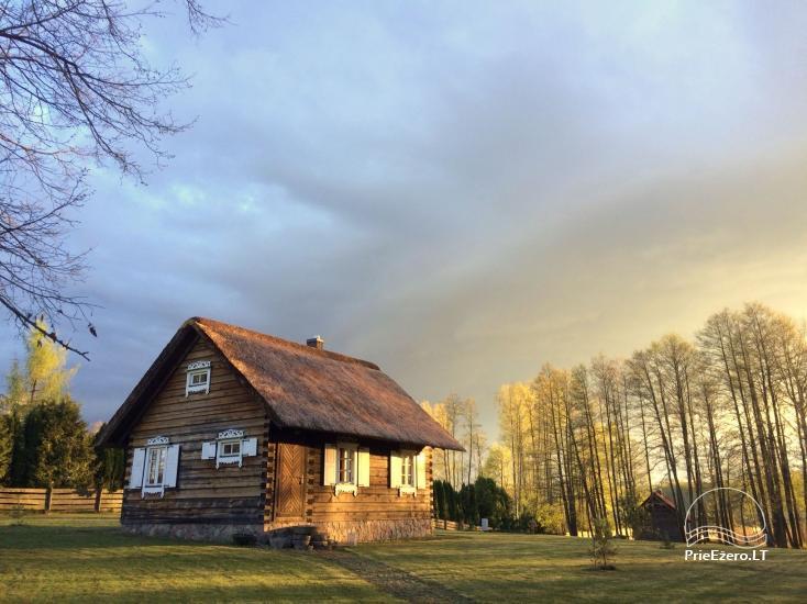 Mazā brīvdienu māja Baublys Lake Lodge - 1
