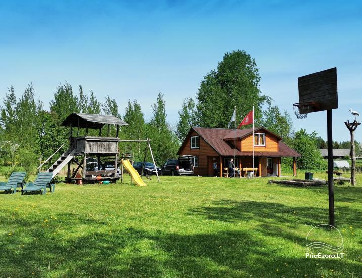 Lauku sēta pie Lusiai ezera un kajaku noma Super kajaki - 2
