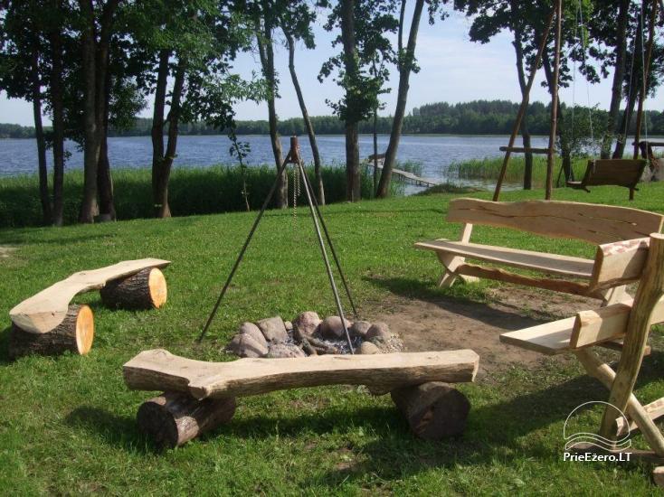 Lauku sēta pie Lusiai ezera un kajaku noma Super kajaki - 12