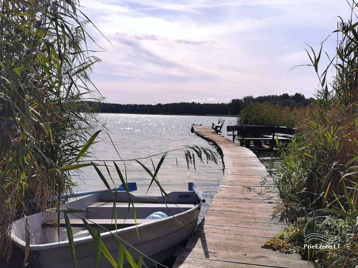 Lauku sēta pie Lusiai ezera un kajaku noma Super kajaki - 13