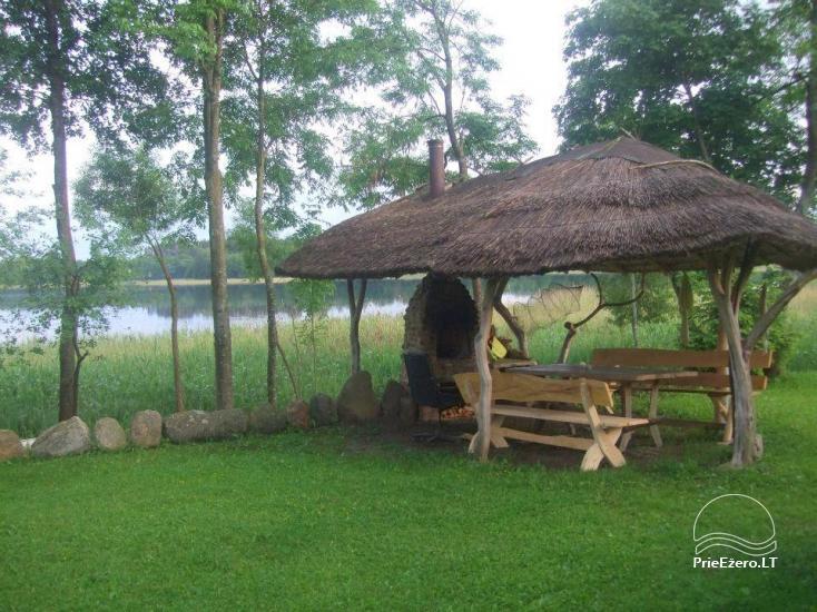 Lauku sēta pie Lusiai ezera un kajaku noma Super kajaki - 9