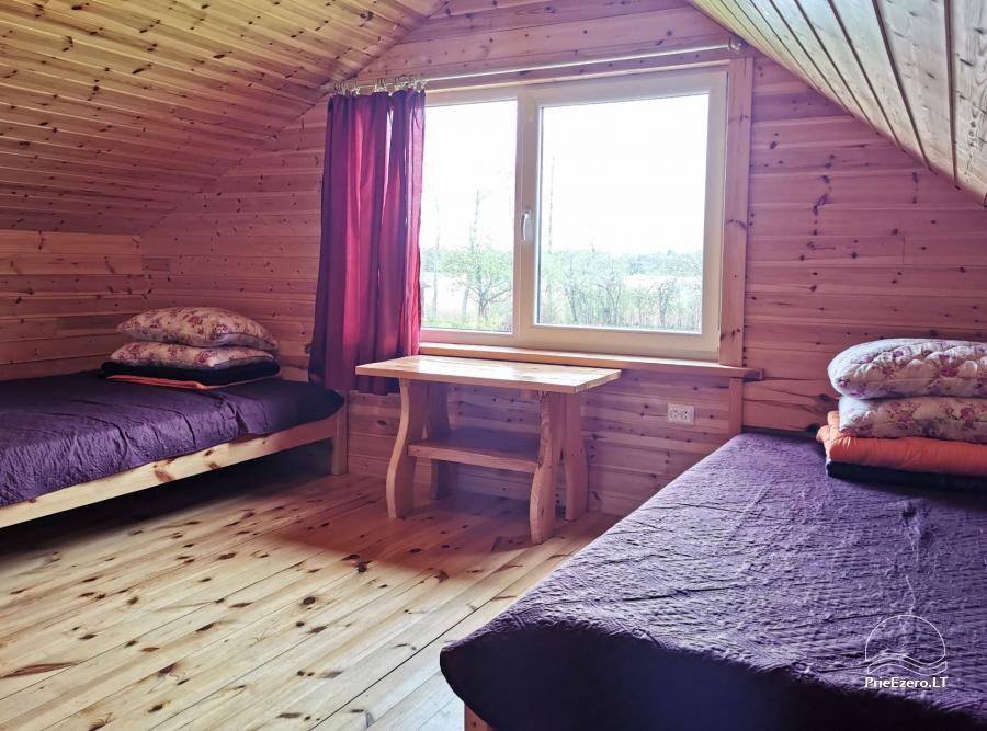 Lauku sēta pie Lusiai ezera un kajaku noma Super kajaki - 14