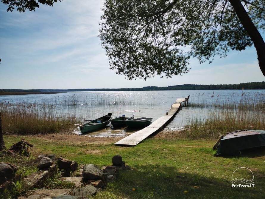 Lauku sēta pie Lusiai ezera un kajaku noma Super kajaki - 23
