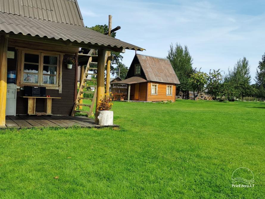 Lauku sēta pie Lusiai ezera un kajaku noma Super kajaki - 32