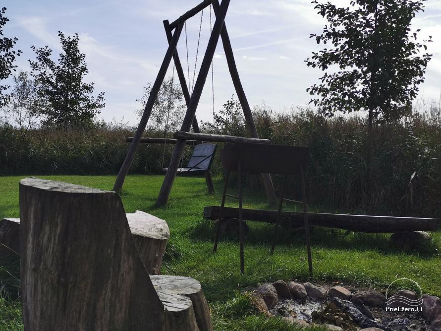 Lauku sēta pie Lusiai ezera un kajaku noma Super kajaki - 35