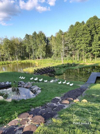 Lauku sēta pie Ilmedas ezera, Lietuvā, Molētu reģionā - 31