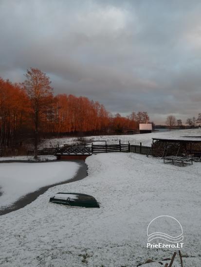 Lauku sēta pie Ilmedas ezera, Lietuvā, Molētu reģionā - 30