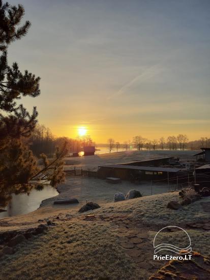 Lauku sēta pie Ilmedas ezera, Lietuvā, Molētu reģionā - 29