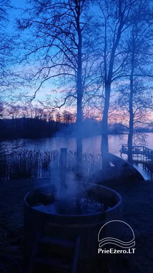 Lauku sēta pie Ilmedas ezera, Lietuvā, Molētu reģionā - 25