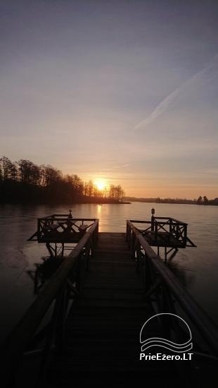 Lauku sēta pie Ilmedas ezera, Lietuvā, Molētu reģionā - 27