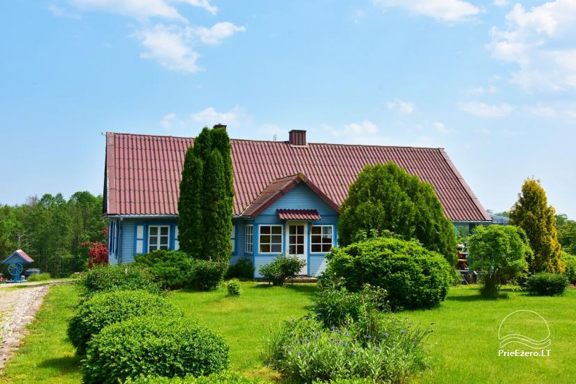 Lauku sēta pie Ilmedas ezera, Lietuvā, Molētu reģionā - 2