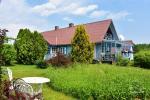 Lauku sēta pie Ilmedas ezera, Lietuvā, Molētu reģionā